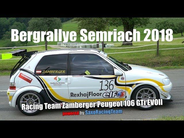 SRT - Bergrallye Semriach 2018 - Martin Zamberger - Peugeot 106 GTi EVOII 1,6 16v
