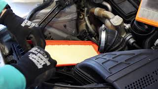 How to Replace the Air Filter - Audi A4 B8 2.0tdi