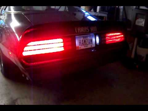 Bandit Trans Am Led Taillights Youtube