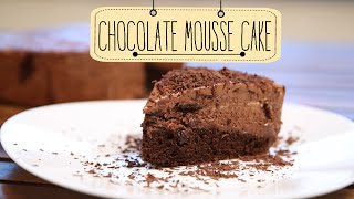 Chocolate Mousse Cake | Yummy Dessert Cake Recipe | Beat Batter Bake With Priyanka