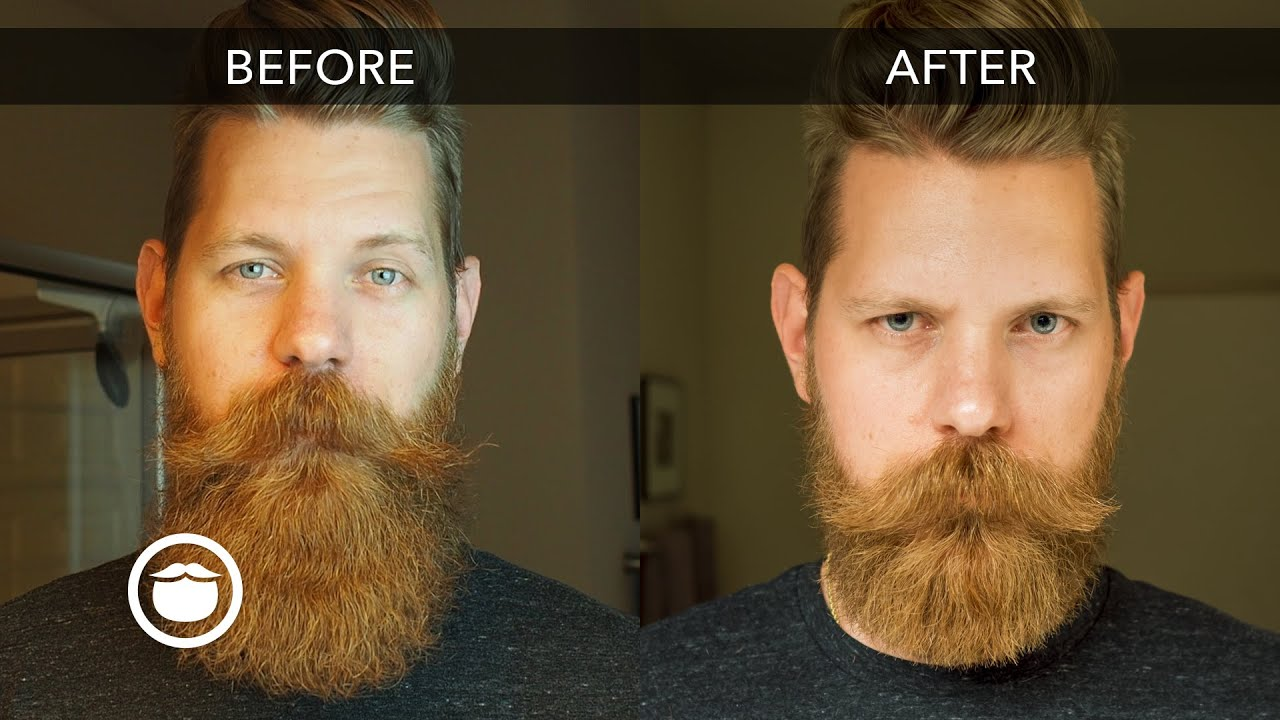How to Trim Your Beard with Scissors | Eric Bandholz