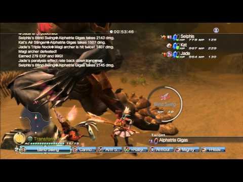 White Knight Chronicles II: Just Deserts II Duke Gigas Boss |