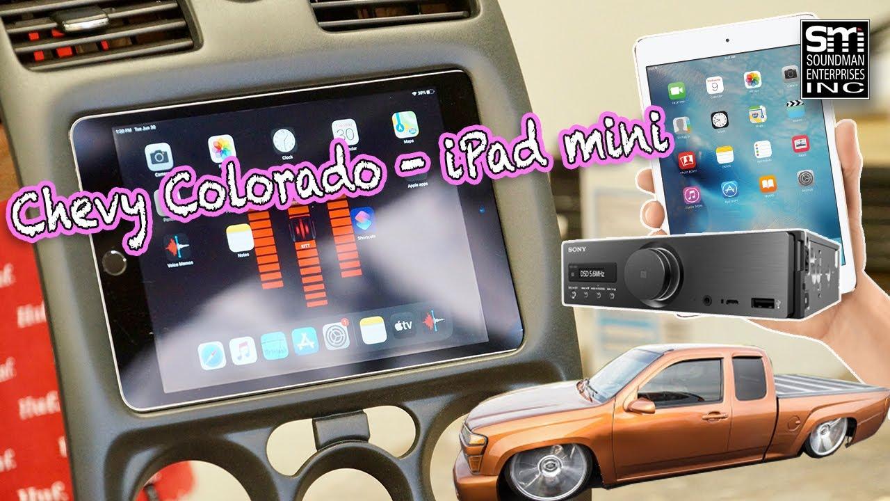 Chevy Colorado iPad mini DASH MOD!