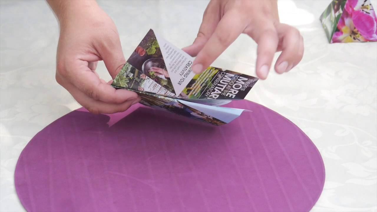 Papercraft Muttart Conservatory Origami Pyramid