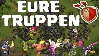 EURE TRUPPEN! || CLASH OF CLANS || Let's Play CoC [Deutsch/German HD]