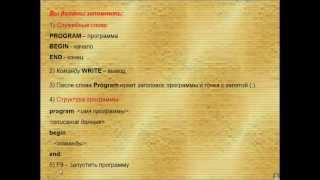 Среда программирования АВС Паскаль