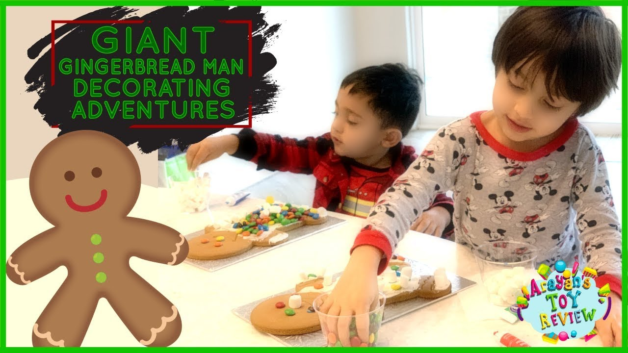 Christmas Activities For Kids Gingerbread Man Decorating Adventures With Toddlers