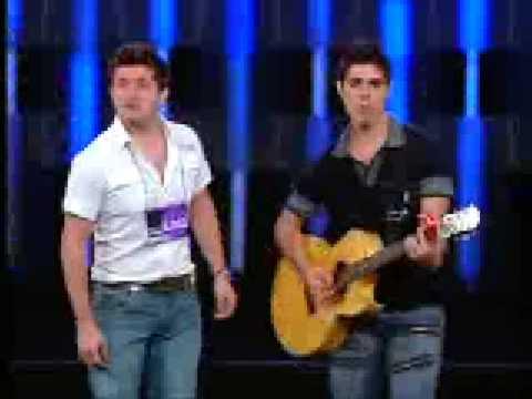 Rodrigo e Daniel no programa Astros (12/2008)