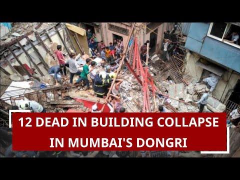 12 Dead In Building Collapse In Mumbai's Dongri