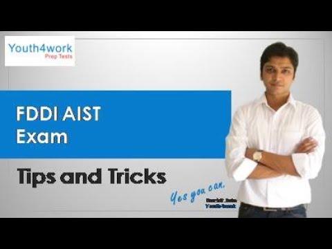 FDDI AIST Exam Preparations   How to crack FDDI AIST ? FDDI All India Selection Test  