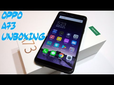 Oppo A73 Unboxing