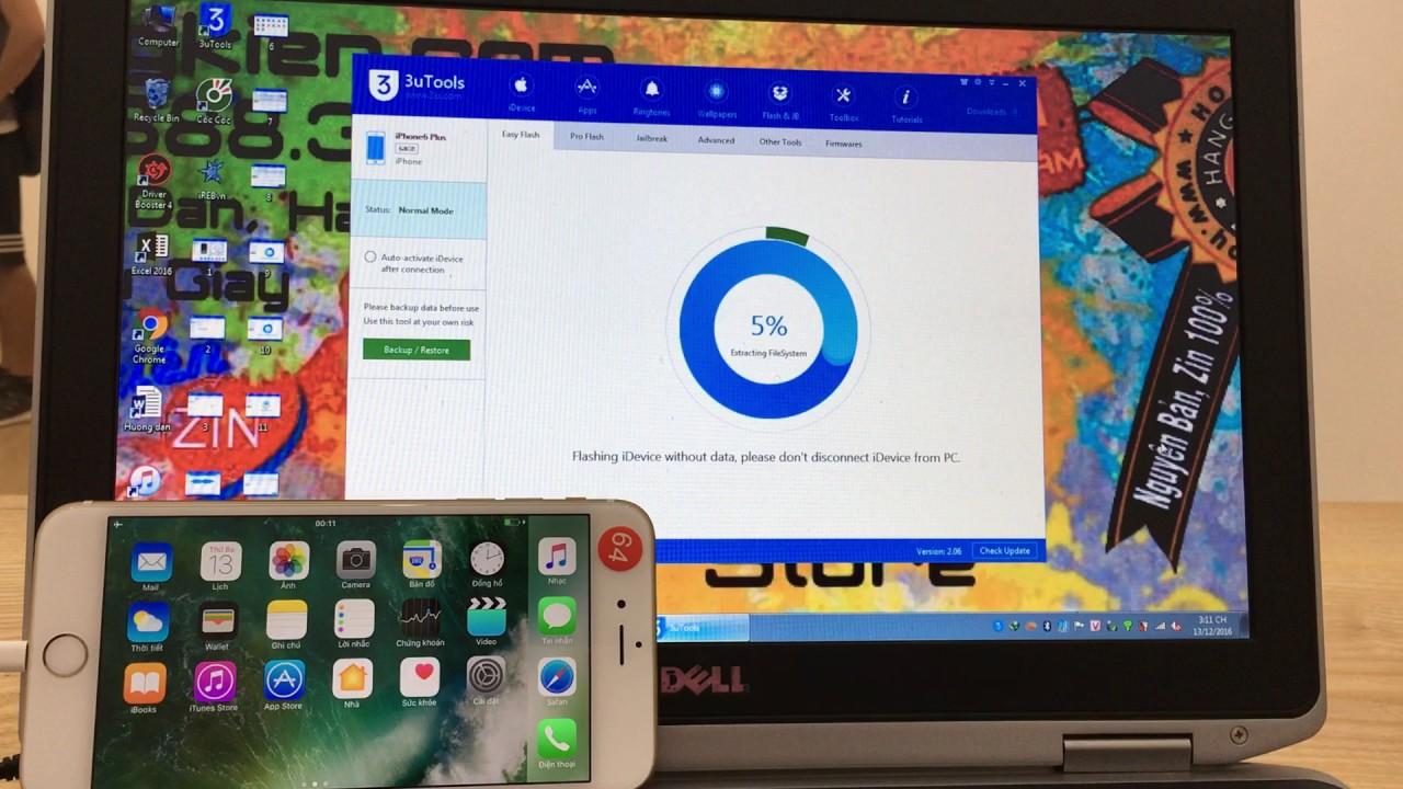 Hoàng Kiên hướng dẫn restore iPhone,iPad thông qua công cụ 3uTools đơn giản và hiệu quả