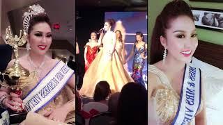 Clip hot: Phần thi ứng xử về cuộc đời giúp Phi Thanh Vân đăng quang Hoa hậu Doanh nhân tại Mỹ