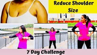 Reduce shoulder size   Upper body workout   7 Day Challenge   Somya Luhadia
