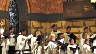 Brahms Requiem: Denn wir haben, St James Cathedral Choir, Chicago with Jonathan Ryan, organist