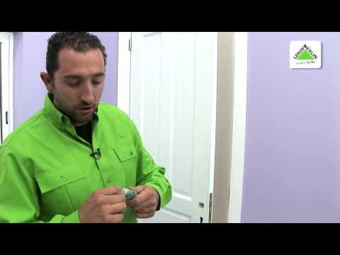 Cambiar una manilla con cilindro por una roseta (Leroy Merlin)