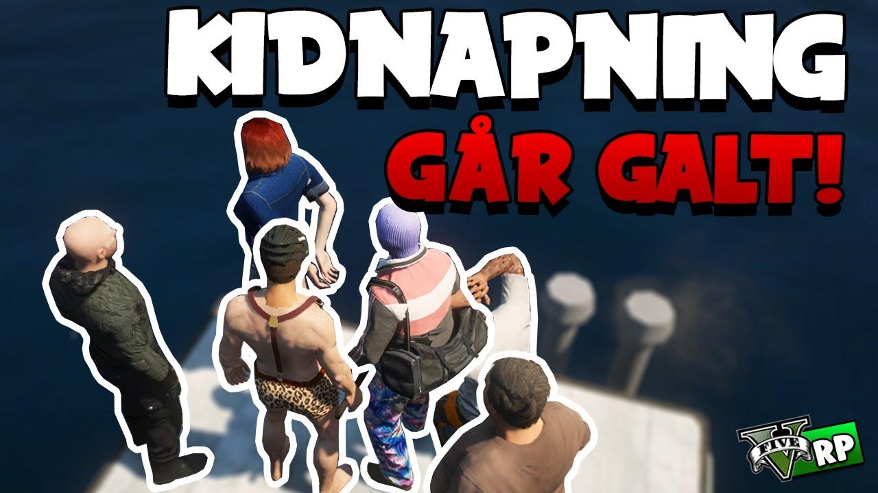 KIDNAPNING GÅR GALT! | GTA 5 RP