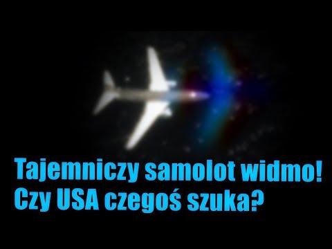Tajemniczy samolot widmo zauważony niedaleko wybrzeży Kalifornii