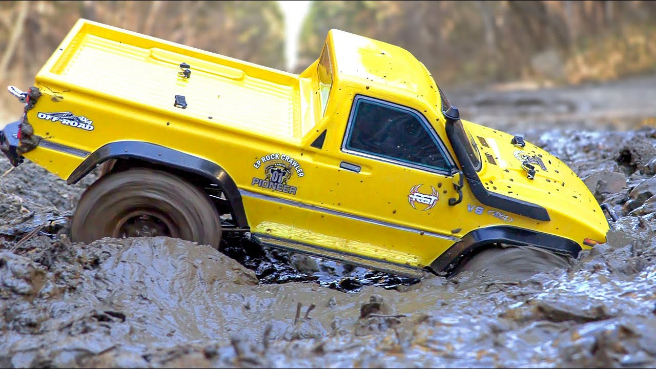 RC Cars STUCK in MUD Ultimate OFF Road – Jeep, Ford — Wilimovich