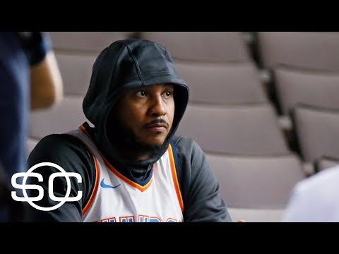 Carmelo Anthony has no plans to come off the bench   SportsCenter   ESPN