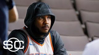 Carmelo Anthony has no plans to come off the bench | SportsCenter | ESPN