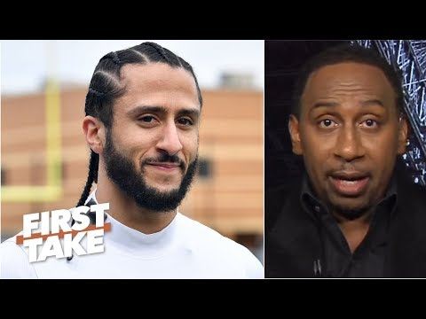 Nobody is going to pit me against Eric Reid and Colin Kaepernick – Stephen A. | First Take
