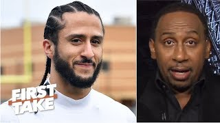 'Nobody is going to pit me against Eric Reid and Colin Kaepernick' - Stephen A. | First Take