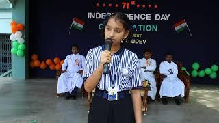15th Aug 2017 - Telugu Speech SFS Palasa