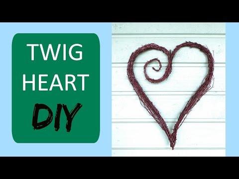 Twig Heart Wreath || DIY Nature Crafts
