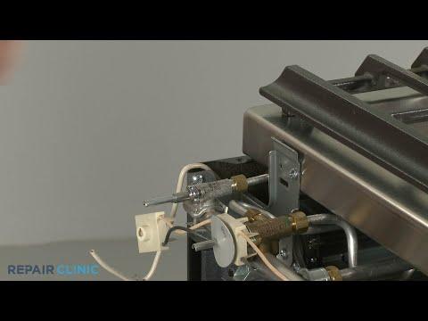 KitchenAid Convection Gas Range Left Rear Burner Valve Replacement - Model #KSGB900ESS1