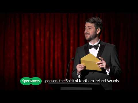 Specsavers Ident | Sponsors The Spirit of Northern Ireland Awards