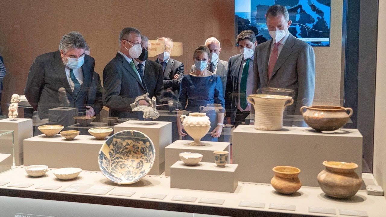 Resumen del acto de inauguración del Museo Foro Romano Molinete por su majestad el Rey Felipe VI