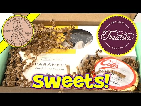 Treatsie Artisan Sweets Monthly Subscription Chocolate & Snack Box
