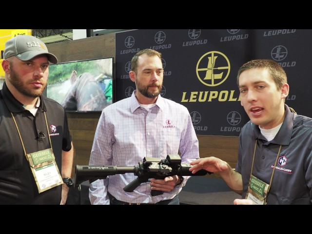 SHOT Show 2017 – Leupold D-Evo Optic Used in Conjunction with Red Dot