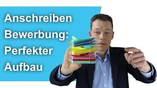 Anschreiben Bewerbung: Perfekter Aufbau – so geht's // M. Wehrle