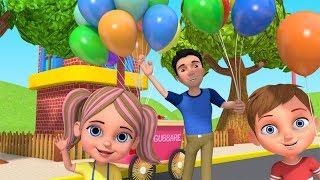 Gubbare Wala   Hindi Poem   गुब्बारे वाला   Little Treehouse India