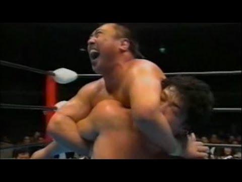 Kenta Kobashi vs. Toshiaki Kawada - AJPW October 23, 1993