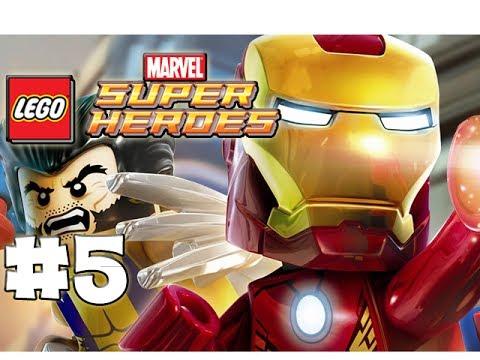 LEGO Marvel Superheroes - Part 5 - Venomous Boss (HD Gameplay Walkthrough)