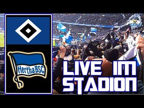 Live im Stadion   HSV vs Hertha BSC   MarcSarpei