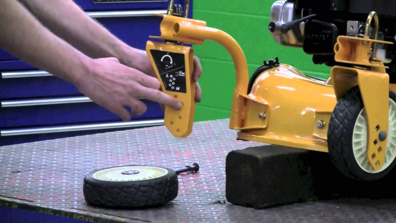 How To Change The Front Wheels On A Cub Cadet Lawn Mower