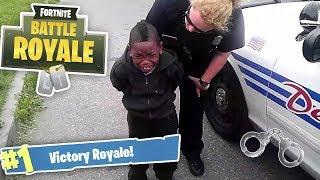 Bambino viene arrestato per aver perso su FORTNITE!