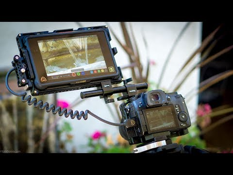 "SmallRig Atomos 7"" Monitor Cage Hands On Review"