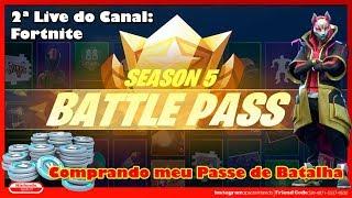 Fortnite-buying my battle pass!