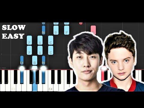 SHAUN - Way Back Home Ft Conor Maynard (SLOW EASY PIANO TUTORIAL)