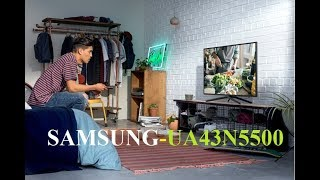 Smart TV Samsung UA43N5500 giá 10tr 43 inch - Không thua kém TV 4K