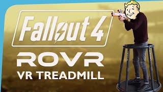 Fallout 4 VR Treadmill, Oculus and ROVR demo - EGX 2016