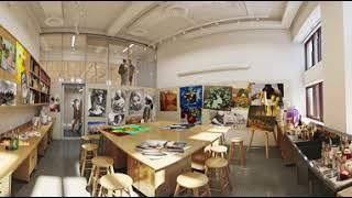 Gambar cover The Dalton Ellen C. Stein Center for Collaborative Study - Art Studio - 360vr