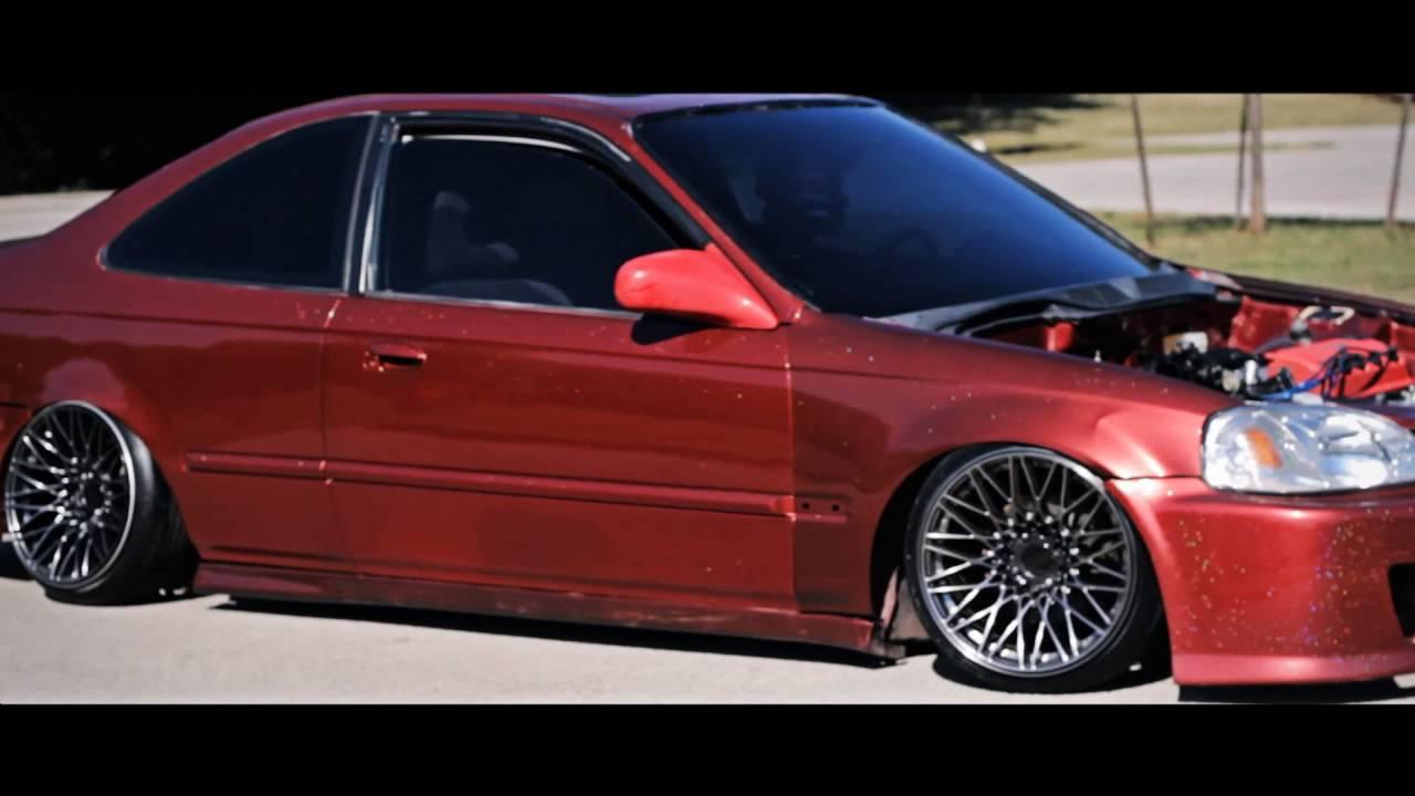 Silver Honda Civic >> Ozzy Ek civic coupe - YouTube