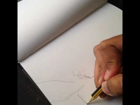 Blurry Edge Berween Pencilpaper Reality Time Flies Art - Reality with pencil and paper