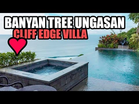 Banyan Tree Bali Ungasan Cliff Edge Ocean View Villa
